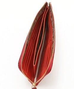 sotでおすすめの札入れ「薄い長財布タイプ」:オースピスレザーLファスナー 長財布