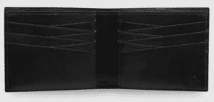 GUCCI(グッチ)でおすすめの札入れ「2つ折り財布タイプ」:グッチ シグネチャー レザー ウォレット