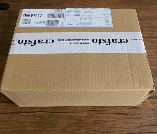 商品到着|crafsto(クラフスト)のブライドルレザーL字ファスナー財布レビュー