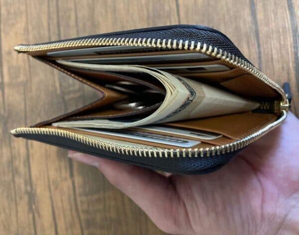 【購入してみた!】crafstoのブライドルレザー L字ファスナー財布をレビュー(画像多め)