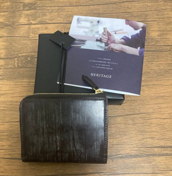 crafsto(クラフスト)のブライドルレザーL字ファスナー財布レビュー
