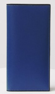 Valextra(ヴァレクストラ)でおすすめの札入れ「長財布タイプ」:ヴァーティカル 12カード