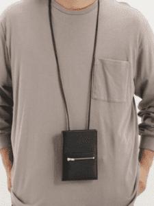 LARCOBALENOでおすすめのウォレットバッグ:別注 スマートショルダーウォレット(803/GOA)