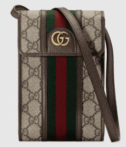 GUCCIでおすすめのウォレットバッグ:〔オフィディア〕GG ミニバッグ