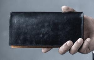 crafstoでおすすめの札入れ「長財布タイプ」:BRIDLE LEATHER ブライドルレザー 長札入れ