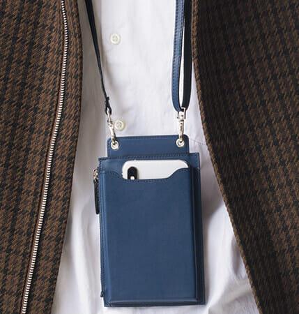 財布と小物入れが一体化した「ウォレットバッグ」