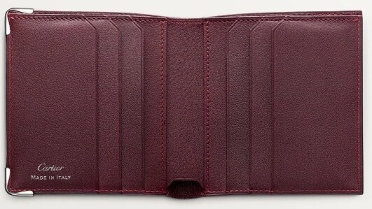 Cartier(カルティエ)でおすすめの札入れ「2つ折り財布タイプ」:6-CREDIT CARD COMPACT WALLET