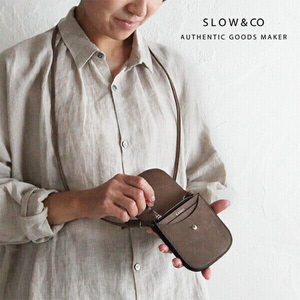 slowでおすすめのネックウォレット:ingrasat neck wallet